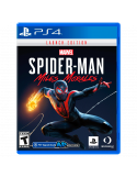 Spiderman Miles Morales PS4