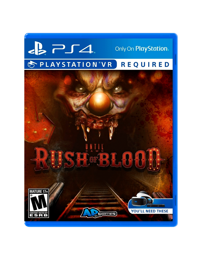 Until Dawn Rush of Blood. Ps4