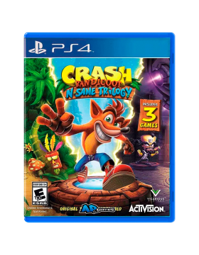 Crash  Bundle Trilogy Ctr Ps4