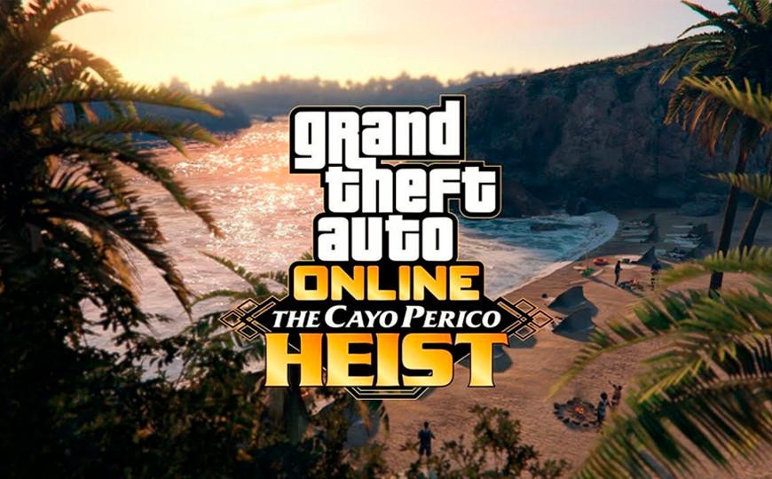 GTA Online recibirá su actualización más grande el 15 de diciembre con Golpe a Cayo Perico