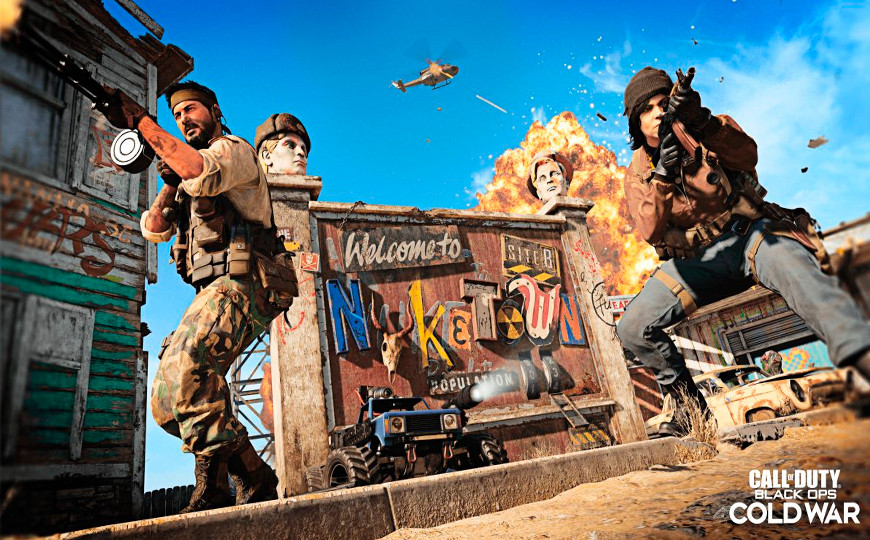 Call of Duty: Black Ops Cold War presenta Nuketown '84; nuevo tráiler